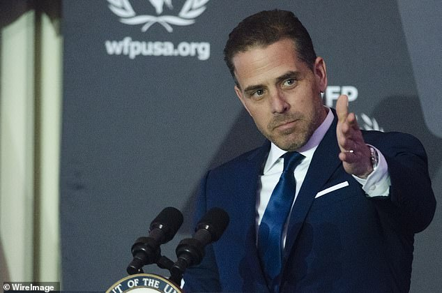 Burisma adviser Vadym Pozharskyi thanked Hunter Biden for 'an opportunity to meet your father' in an email sent in 2015, according to the stash of data given to the New York Post by Giuliani.However the email did not state that the two actually met, and the Biden campaign responded that 'we have reviewed Joe Biden's official schedules from the time and no meeting, as alleged by the New York Post, ever took place.'