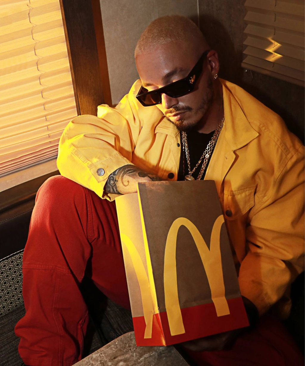 J Balvin Is Getting His Own McDonald's Meal, Too