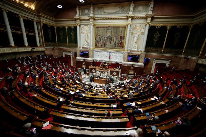 A l'Assemblée nationale, le 26 janvier.