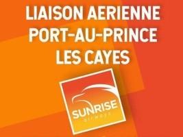 Haïti - FLASH : Sunrise Airways annonce une nouvelle liaison Port-au-Prince / Cayes