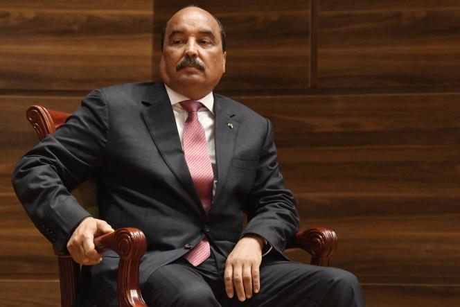 Mohamed Ould Abdel Aziz, à Nouakchott, en Mauritanie, le 1er août 2019.